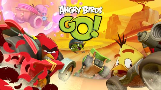 اسکرین شات بازی Angry Birds Go! 6