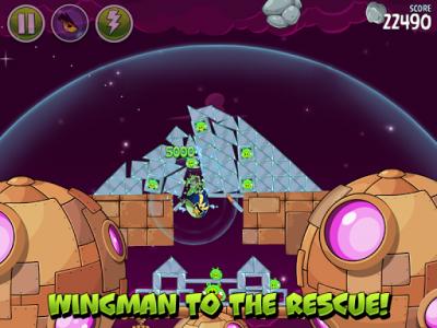 اسکرین شات بازی Angry Birds Space 8