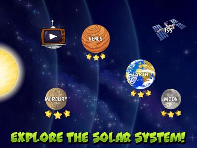 اسکرین شات بازی Angry Birds Space 6