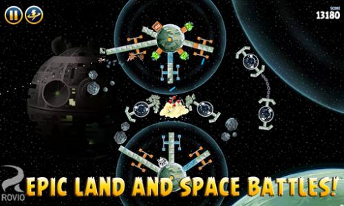 اسکرین شات بازی Angry Birds Star Wars 4