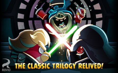 اسکرین شات بازی Angry Birds Star Wars 8