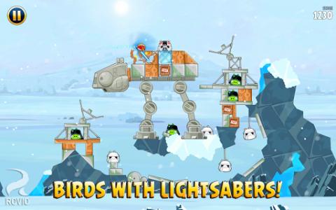 اسکرین شات بازی Angry Birds Star Wars 7