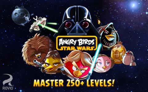 اسکرین شات بازی Angry Birds Star Wars 6