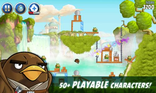 اسکرین شات بازی Angry Birds Star Wars II Free 3