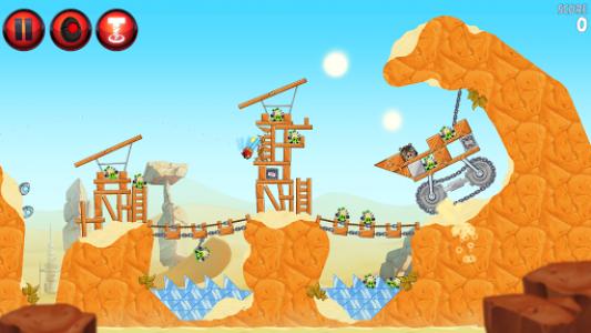 اسکرین شات بازی Angry Birds Star Wars II Free 6