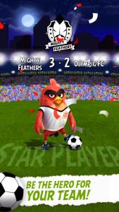 اسکرین شات بازی Angry Birds Football 5