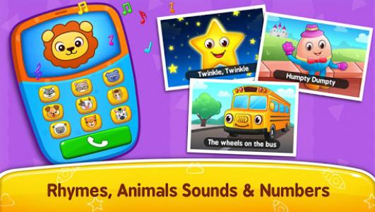 اسکرین شات بازی Baby Games - Piano, Baby Phone, First Words 1