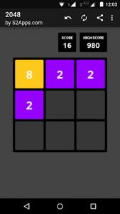 اسکرین شات بازی 2048 5