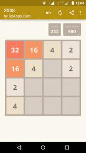 اسکرین شات بازی 2048 6