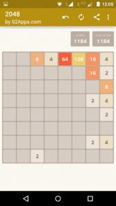 اسکرین شات بازی 2048 7
