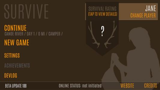 اسکرین شات بازی Survive - Wilderness survival 1