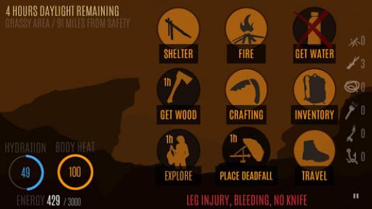 اسکرین شات بازی Survive - Wilderness survival 8
