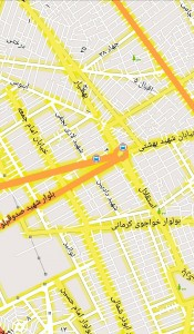 اسکرین شات برنامه نقشه آفلاین کرمان 1