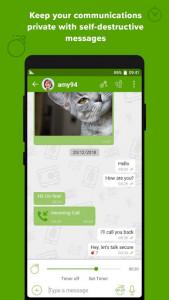 اسکرین شات برنامه Crypviser Secure Messenger 2