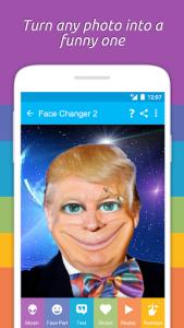 اسکرین شات برنامه Face Changer 2 1