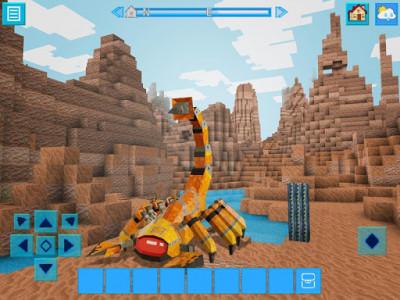 اسکرین شات بازی RoboCraft: Building & Survival Craft - Robot World 2