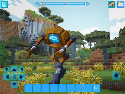 اسکرین شات بازی RoboCraft: Building & Survival Craft - Robot World 7