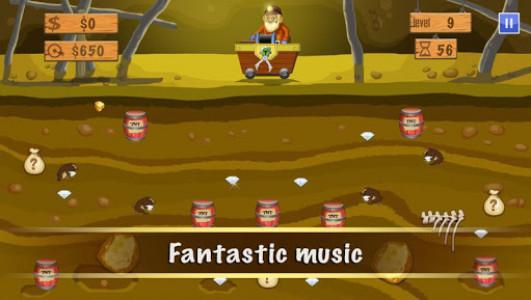 اسکرین شات بازی Gold Miner Deluxe 3