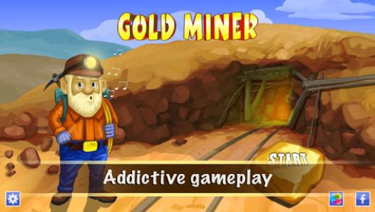 اسکرین شات بازی Gold Miner Deluxe 1