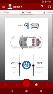 اسکرین شات برنامه Dashboard for Tesla 6