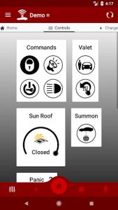 اسکرین شات برنامه Dashboard for Tesla 4