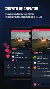 اسکرین شات برنامه SGETHER - Live Streaming 2