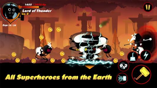 اسکرین شات بازی Stickman Shadow- Shadow Revenge 6
