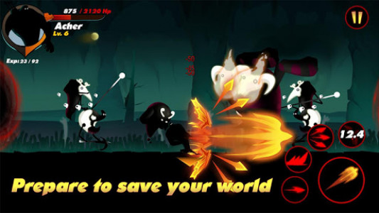 اسکرین شات بازی Stickman Shadow- Shadow Revenge 2