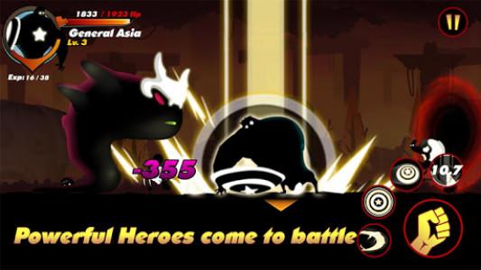 اسکرین شات بازی Stickman Shadow- Shadow Revenge 3