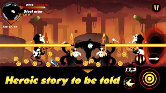 اسکرین شات بازی Stickman Shadow- Shadow Revenge 5
