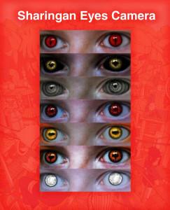 اسکرین شات برنامه Sharingan Eyes Camera - Anime Photo Editor 2