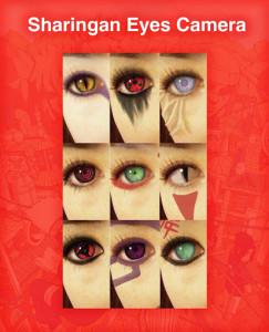 اسکرین شات برنامه Sharingan Eyes Camera - Anime Photo Editor 3