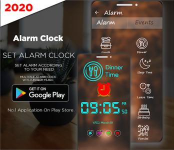 اسکرین شات برنامه Smart Alarm Clock for Free – Loud Alarm Music 4