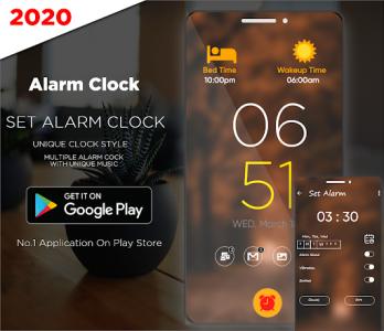اسکرین شات برنامه Smart Alarm Clock for Free – Loud Alarm Music 3