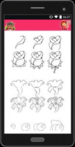 اسکرین شات برنامه آموزش نقاشی به زبان ساده 9