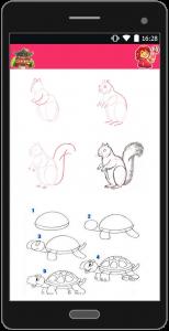 اسکرین شات برنامه آموزش نقاشی به زبان ساده 10