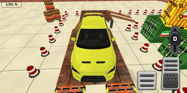 اسکرین شات بازی بازی پارک ماشین 2