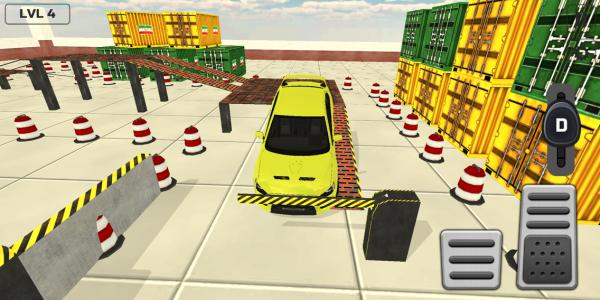 اسکرین شات بازی بازی پارک ماشین 1