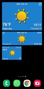 اسکرین شات برنامه Weather Forecast 6