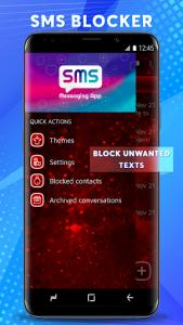اسکرین شات برنامه Dual Sim SMS Messenger 2020 3