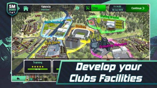 اسکرین شات بازی Soccer Manager 2020 - Football Management Game 5