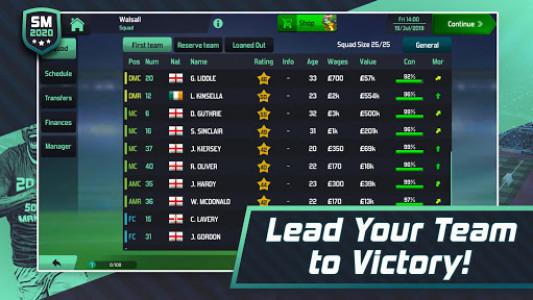 اسکرین شات بازی Soccer Manager 2020 - Football Management Game 6