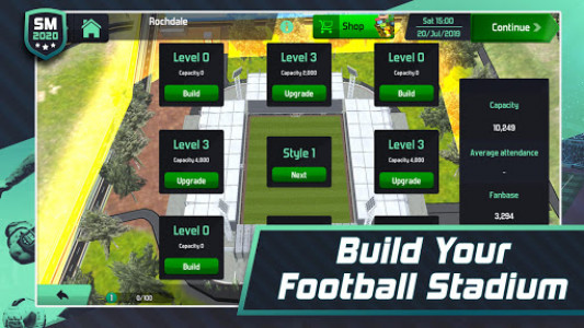 اسکرین شات بازی Soccer Manager 2020 - Football Management Game 4