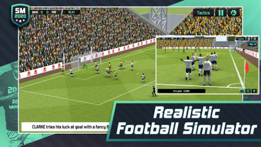 اسکرین شات بازی Soccer Manager 2020 - Football Management Game 1