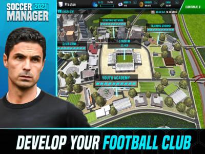 اسکرین شات بازی Soccer Manager 2021 - Free Football Manager Games 8
