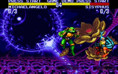 اسکرین شات بازی لاکپشتهای نینجا-تورنمنت 4
