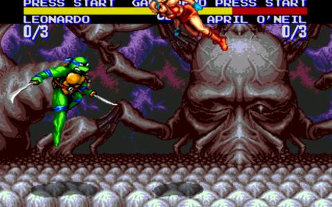 اسکرین شات بازی لاکپشتهای نینجا-تورنمنت 7