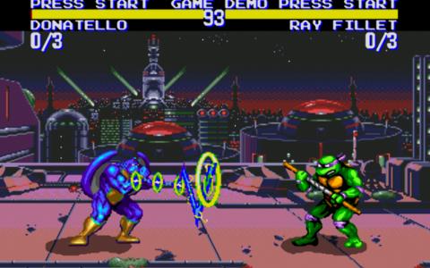 اسکرین شات بازی لاکپشتهای نینجا-تورنمنت 6