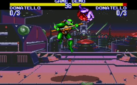 اسکرین شات بازی لاکپشتهای نینجا-تورنمنت 5