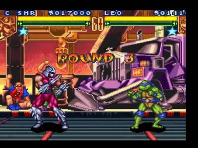 اسکرین شات بازی لاکپشتهای نینجا-تورنمنت 2